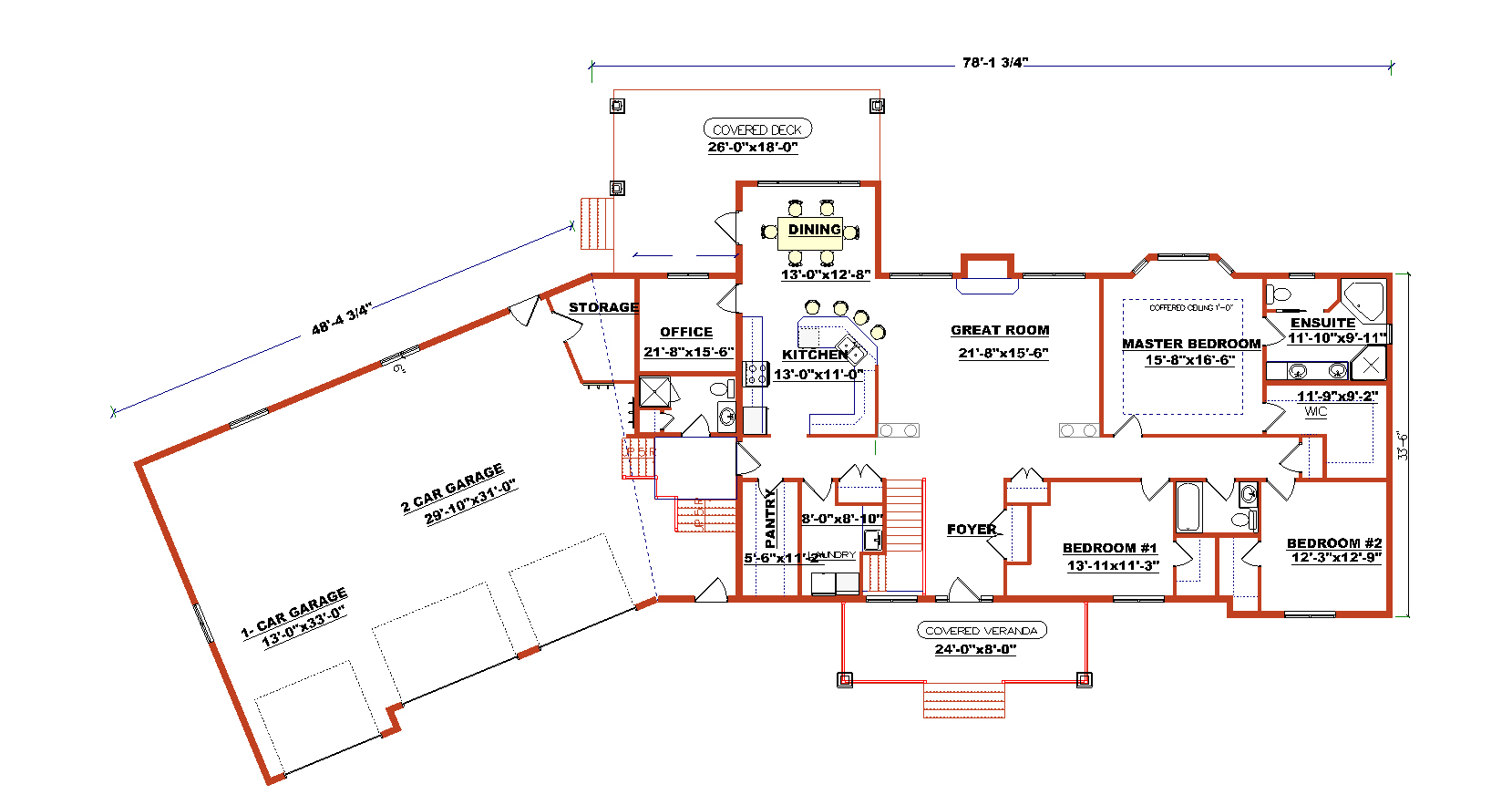Ranch style floor plans 1700 to 1800 sq ft ranch style for 1800 50 floor