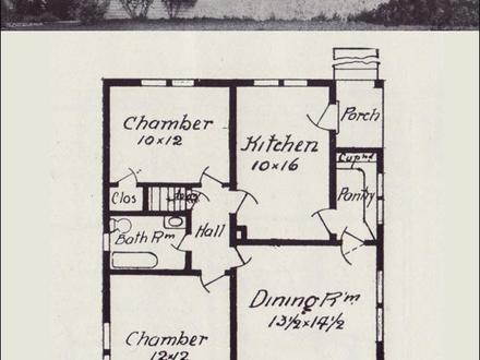 Simple Small House Floor Plans Old House Floor Plans
