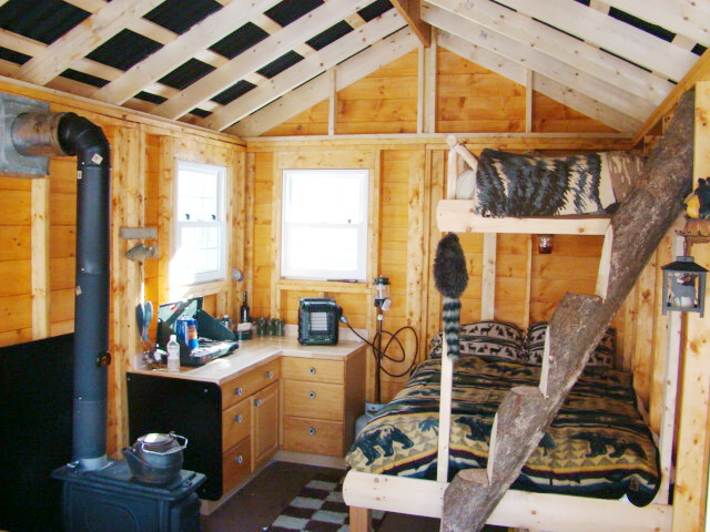 Small Cabins Tiny Houses Interiors Interior Portable Building Cabin