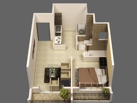 Small Cottage House Plans Small House Plans 1 Bedroom Apartment