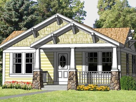 Small Craftsman Style Home Plans Small Bungalow Style Homes