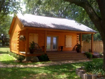 Small Log Cabin Kit Homes Pre-Built Log Cabins