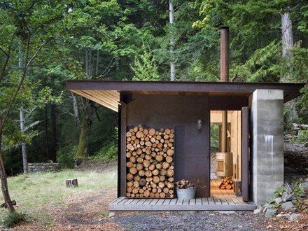 Small Modern Cabins Modern One Room Cabin