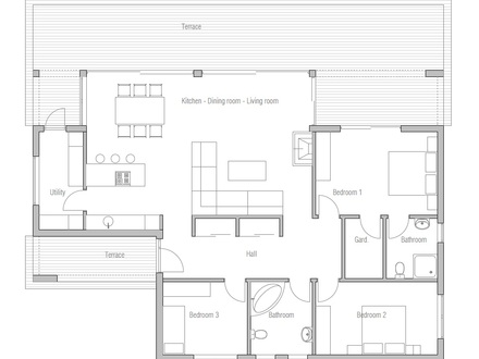 Small Modern Contemporary House Plans Contemporary Modern Tiny House