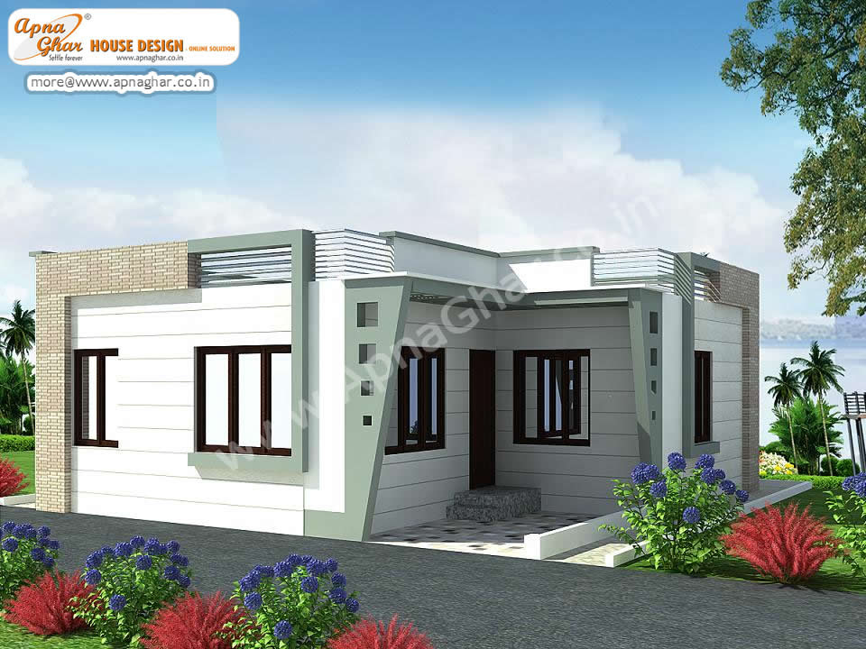 Small Single Floor House Elevation Design Single Floor House Front Design