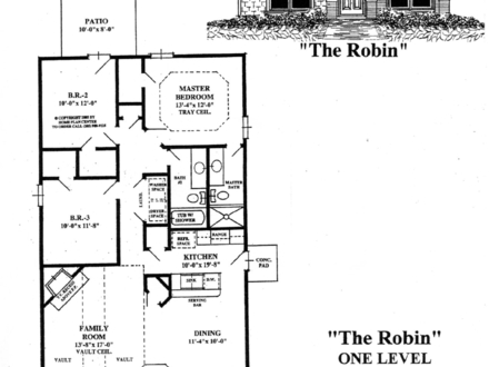 Small Single Level House Plans One Level Living House Plans