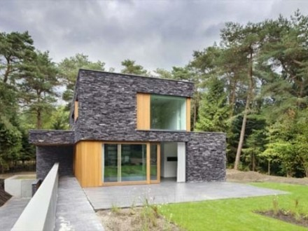 Small Stone and Log Homes Small Modern House Stone