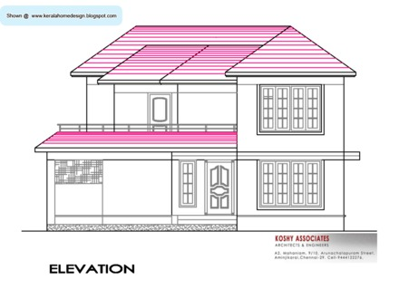 South Indian House Design Plan Best Indian House Designs