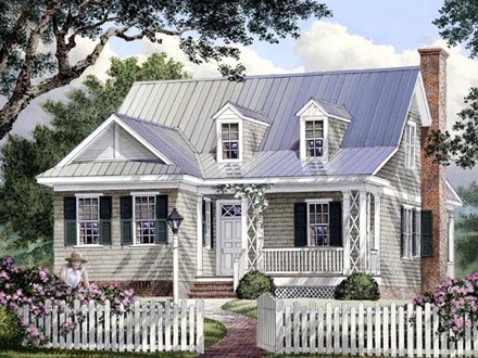 Southern Living Cottage Small Southern Cottage Style House Plans