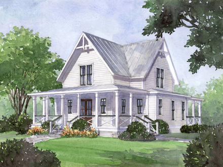 Southern Living Four Gables House Plans Southern Living Seven Pines