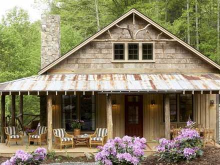 Southern Style Cabin Southern Living Cabin House Plans