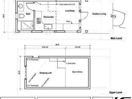 Tiny House Floor Plans with Loft Tiny House Interior