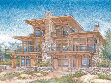 Waterfront Luxury Home Plans Modern Waterfront House Plans