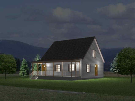 1 1 2 Story Cabin Plans 1 1 2 Story Homes