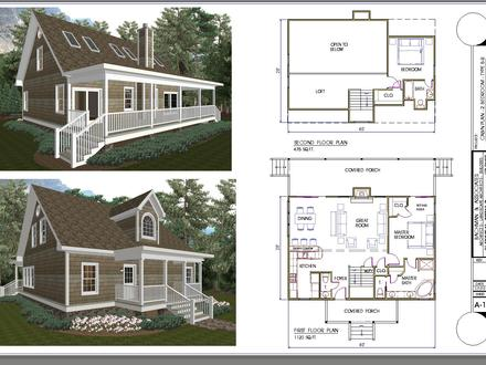 2 Bedroom Cabin Plans with Loft 2 Bedroom Ranch Floor Plans