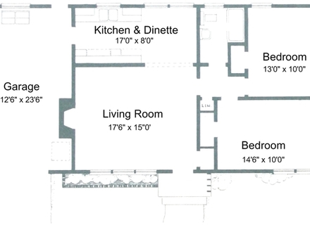 2 Bedroom House Plans Free 2 Bedroom House Plans with Open Floor Plan