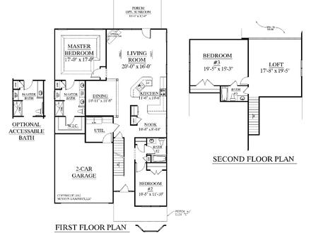 3 Bedroom House Plans with Loft Luxury 3 Bedroom House Plans