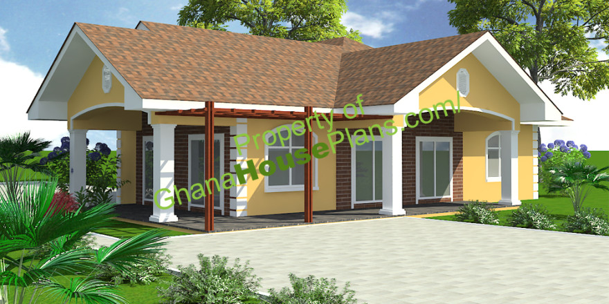 3-Bedroom Section 8 Houses Ghana 3 Bedroom House Plans ...