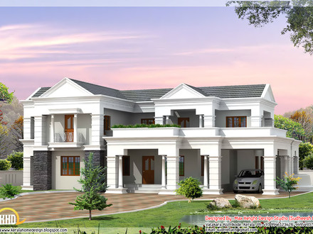 3D House Plans Designs Mansion Floor Plans 3D