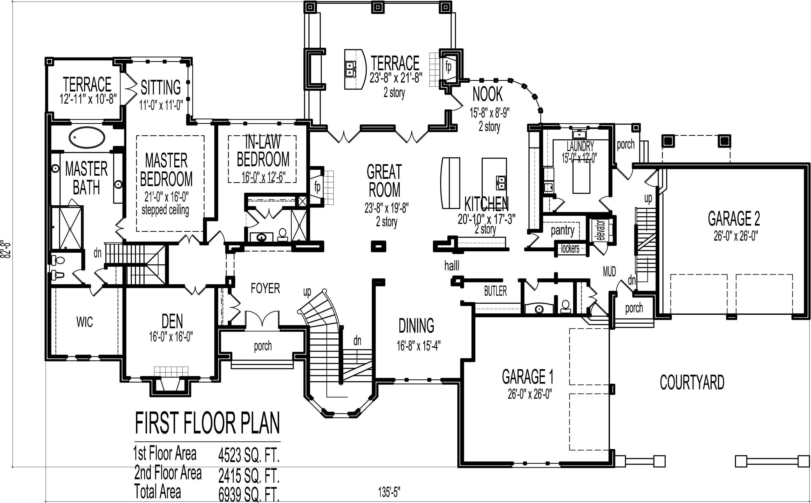 6 bedroom house plans blueprints 6 bedroom house plans 3d for 6 bedroom home plans