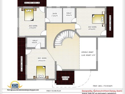 A Typical House From India House Plans Designs India