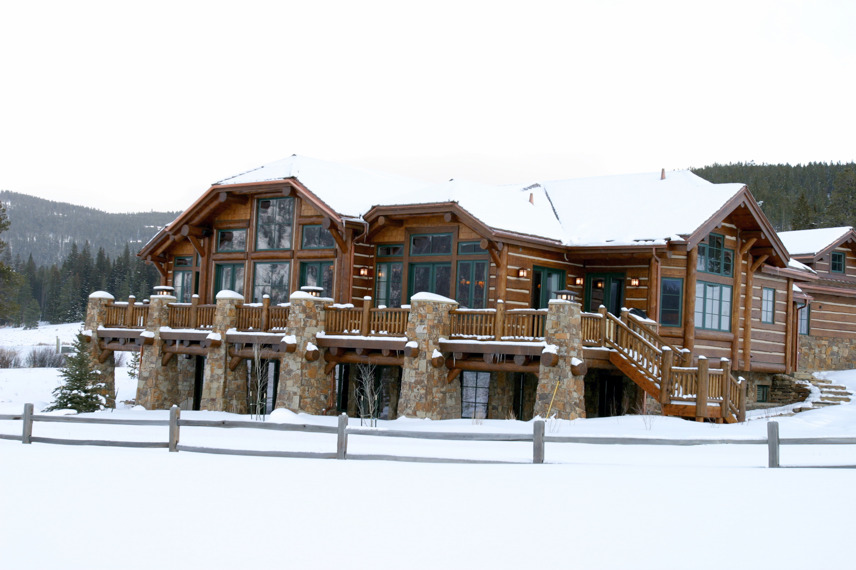 Beautiful Mansion Log Cabins Log Cabin Mansions In The