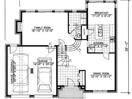 Simple one story house floor plans modern one story house for Best ranch house plans 2016