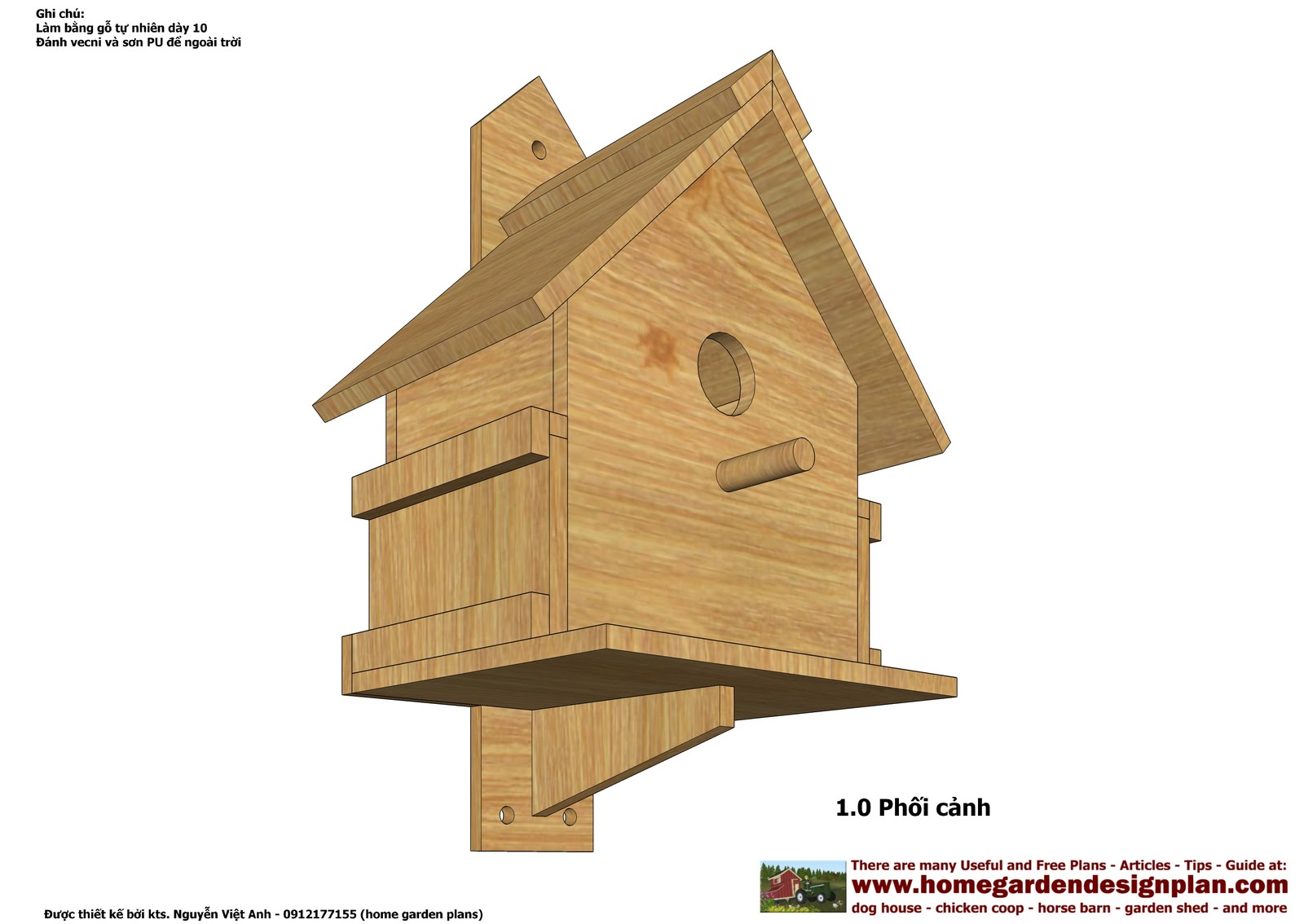 Build Bird Houses Plans Decorative Bird House Plans