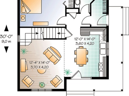 Building a Country Cabin Cabin Country, Small Cabin, Country House, Cottage, Cabin House Plans