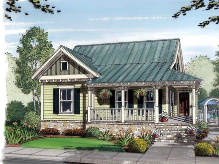 Bungalow Cottage Home Plans Coastal Cottage House Plans