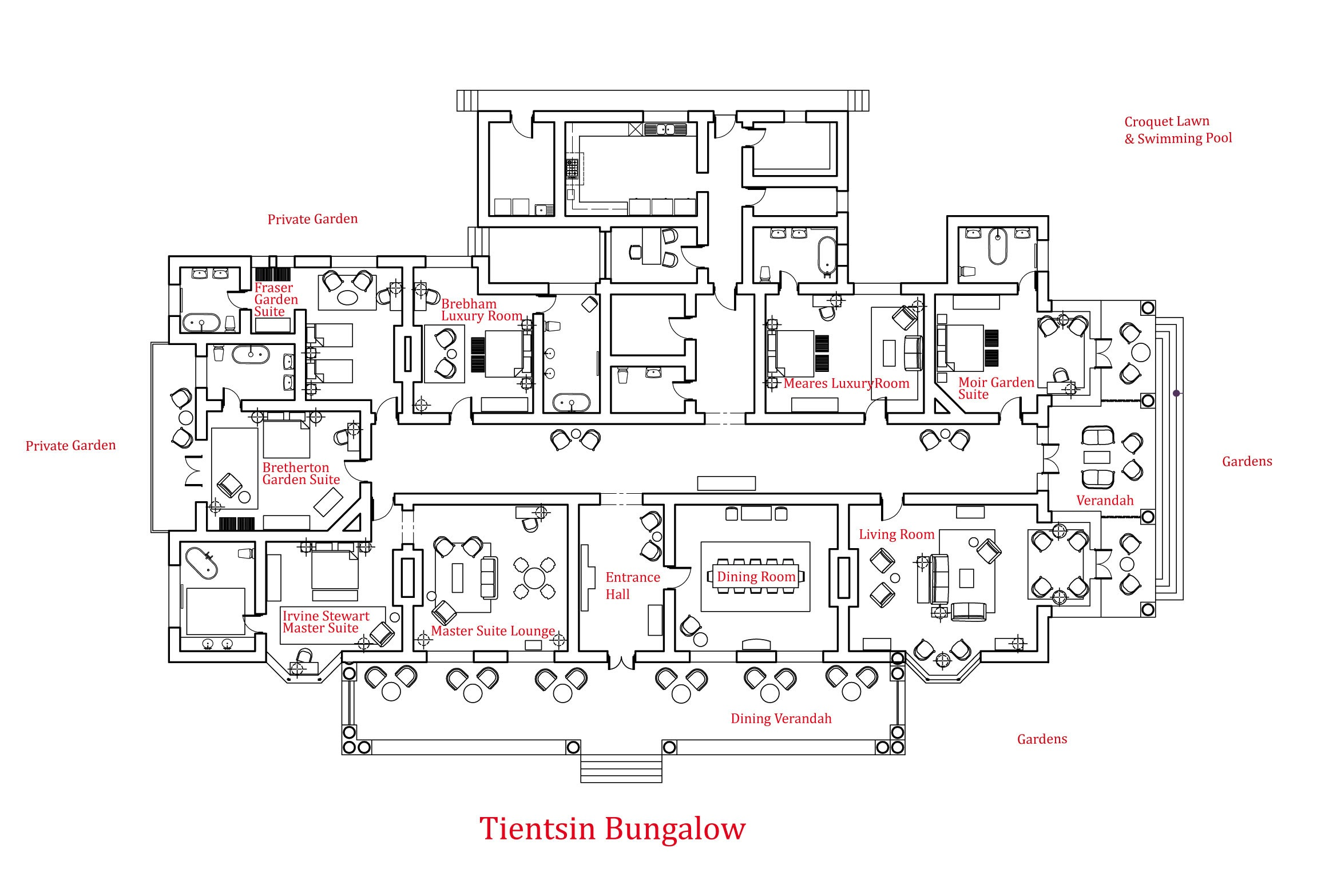 Bungalow Floor Plan 2 Bedroom Bungalow Plans Luxury