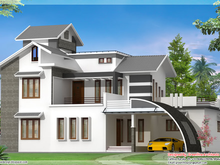 Bungalow House Design in Malaysia Indian Style House Design