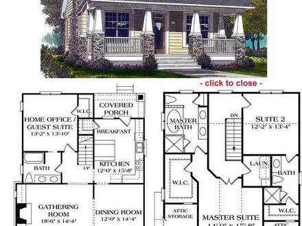 Bungalow House Floor Plans Bungalow Cottage House Plans