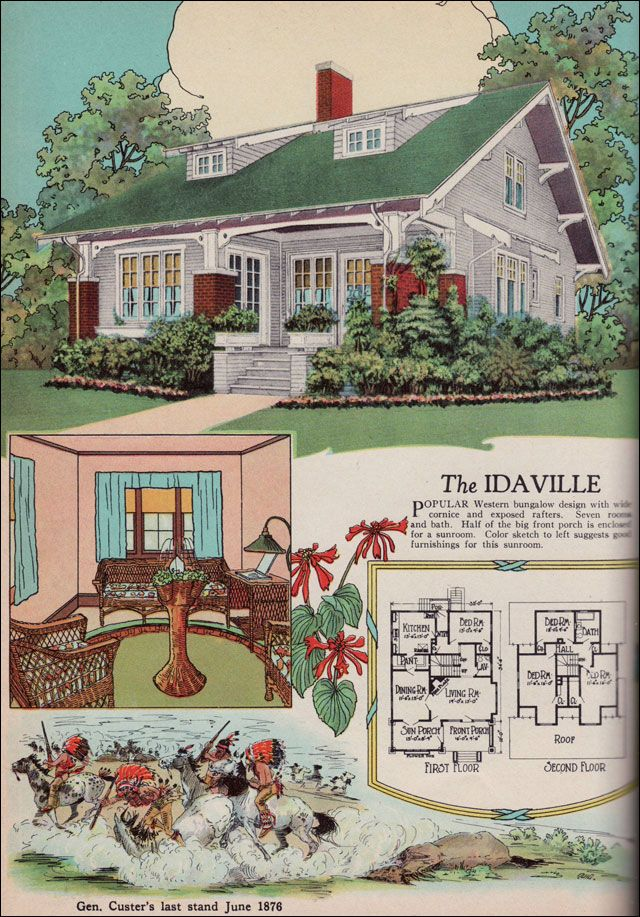 Bungalow house plans with porches 1920s american bungalow for 1920 s craftsman bungalow house plans