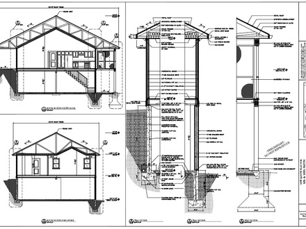Construction Home House Plans House Framing Drawings