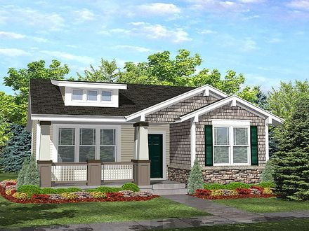 Cottage Style Bungalow House Plan Prefabricated Cottage Small Houses
