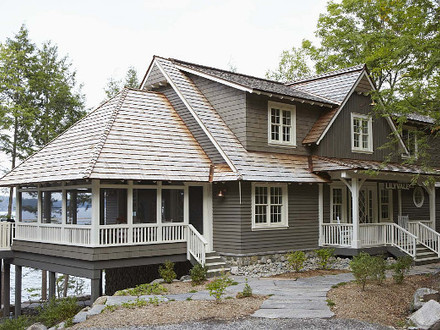 Cottage Style Lake Homes Exteriors Lake Cottage Home Interiors