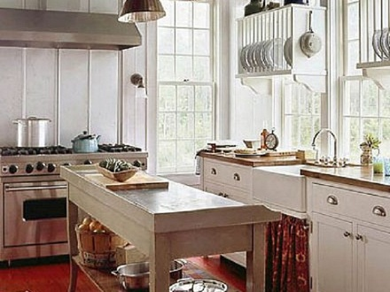 Country Cottage Kitchen Colors Country Cottage Kitchen Decorating Ideas