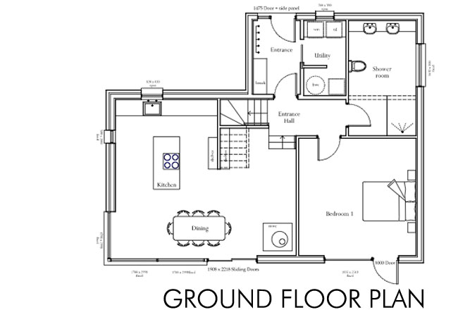 Country house floor plans building house floor plans for Country plans owner builder