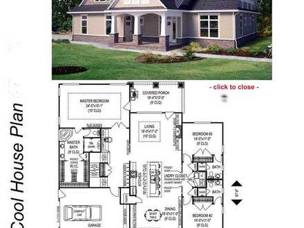 Country Style Homes Bungalow Style Homes Floor Plans