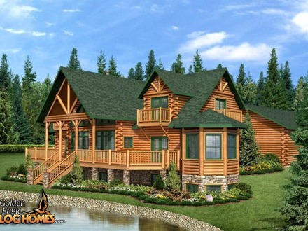 Country\'s Best Log Homes Best Log Cabin Home Plans