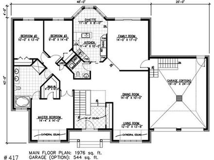 Craftsman Bungalow House Plans One Story Bungalow House Plans