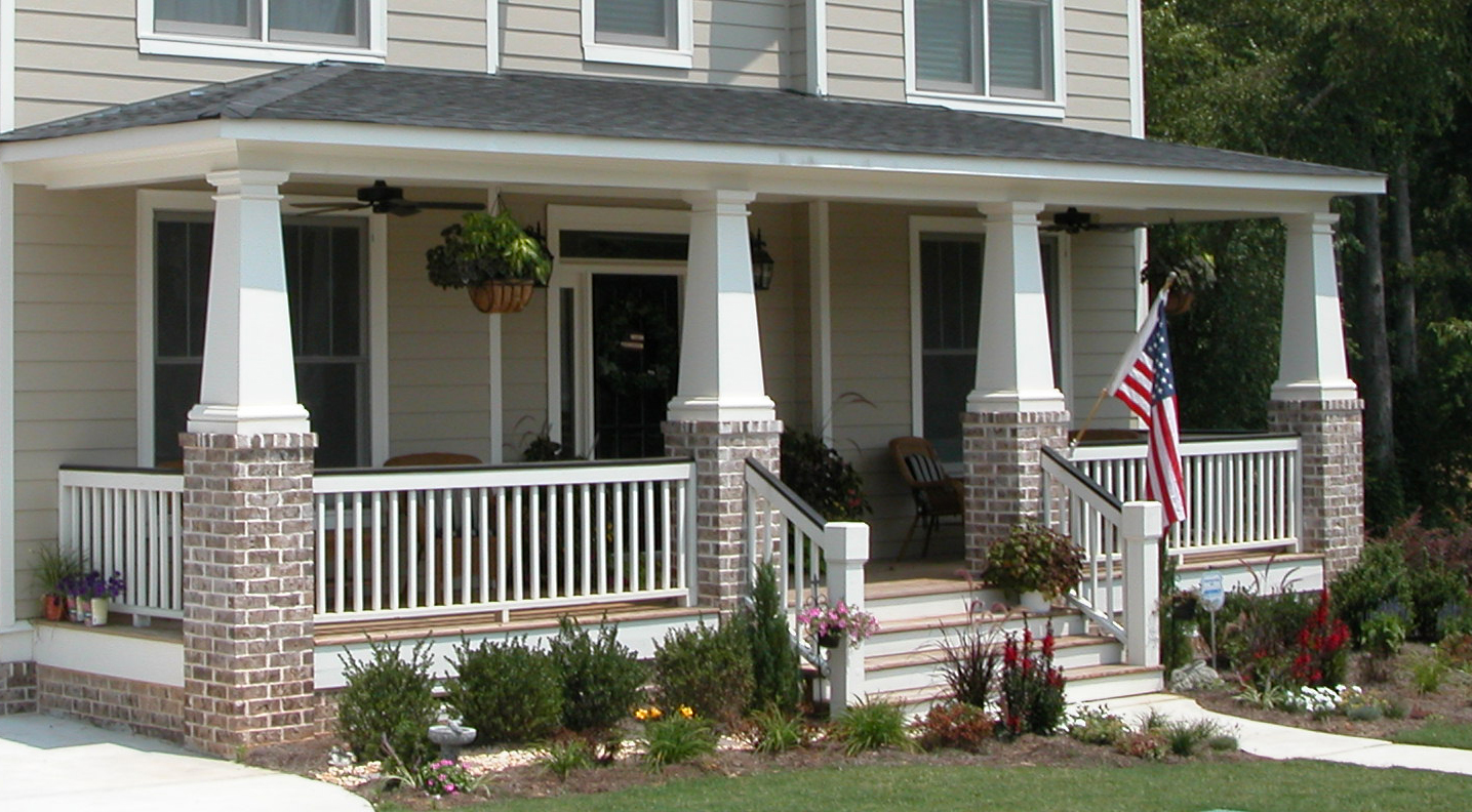 Craftsman Style Front Porch Stairs Craftsman Style Front