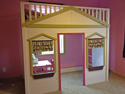 DIY Cottage Loft Bed Loft Beds At