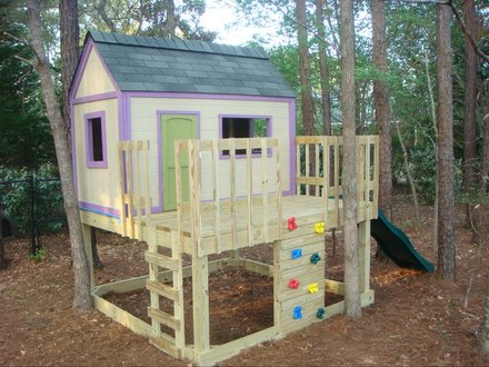 Easy Playhouse Plans Kids Playhouse Plans