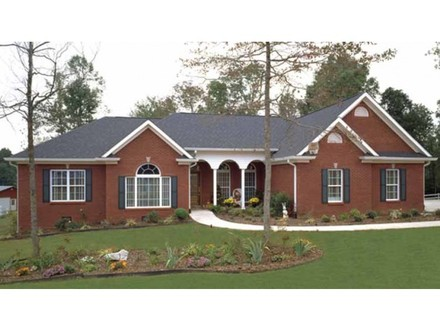 Exterior Brick Ranch Houses Brick Ranch Style House Plans