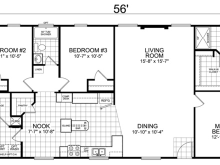 Floor Plans for 3 Bedroom 2 Bath House House Floor Plans 3 Bedroom 2 Bath
