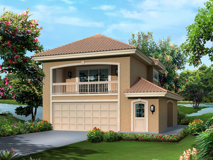 Garage Apartment Plans with Balcony Prefab Garage with Apartment Plans
