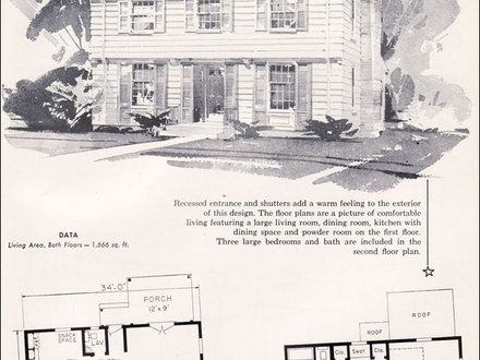 Garrison Colonial House Plans New England Colonial House Plans