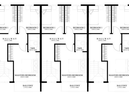 Ground Floor Plans Townhouse 3-Story Townhouse Floor Plans ...